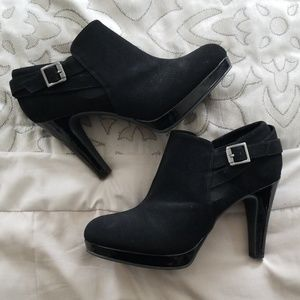 Like New Black Booties